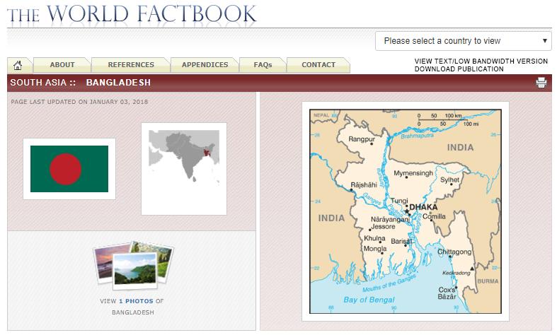 Bangladesh CIA Factbook Page.PNG