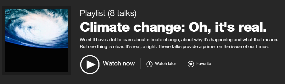 TED Climate Change Evidence Playlist.PNG